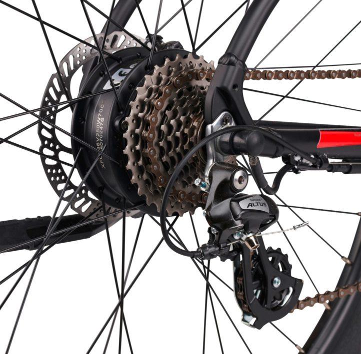 Vélo électrique Scrapper E-XC-1.0-5
