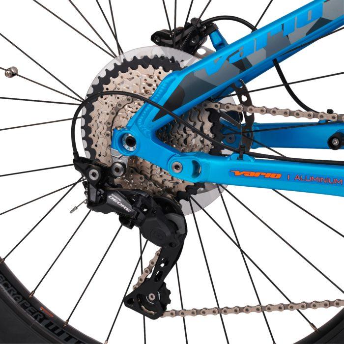 Vélo électrique Vario E-Bomba Rock Shox 500-4